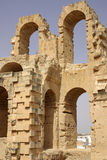 Coliseum in El-Jem, Tunisia Royalty Free Stock Photography