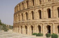Coliseum in El-Jem, Tunisia, Africa Stock Photography