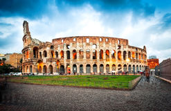 Coliseum evening Royalty Free Stock Photo