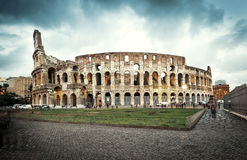 Coliseum evening Royalty Free Stock Image