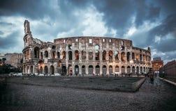 Coliseum evening Stock Image