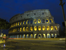 Coliseum -The Flavian Amphitheater in Rome Royalty Free Stock Image