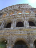 The Coliseum. Historic architecture of the Roman Coliseum, the echos of the many feet that have trod there royalty free stock images