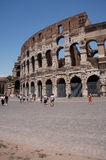 Coliseum Horizontal aspect. Portrait view of the Coliseum in Rome Italy Stock Photography