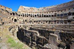 coliseum inom italy rome Royaltyfri Fotografi
