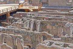 Coliseum interior Royalty Free Stock Image