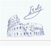 Coliseum. Italy Attractions Royalty Free Stock Photo