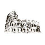 Coliseum. Italy Attractions Royalty Free Stock Image