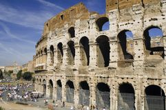 Coliseum in Italy Rome royalty free stock photography