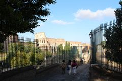 Colosseum, Roma, Italy stock images