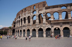 Coliseum Landscape aspect. Landscape oriented image of the Coliseum in Rome, Italy Royalty Free Stock Image