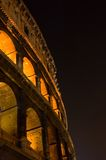 Coliseum at night Stock Photography