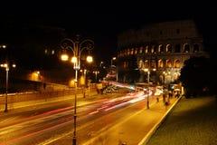 Coliseum by Night Stock Photos
