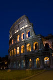 Coliseum at night Stock Photos