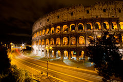 Coliseum by night, Rome Italy Royalty Free Stock Photography