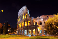 Coliseum nightshot Stock Image