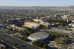 Coliseum och sportarena royaltyfria foton