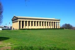 Coliseum op groen gebied royalty-vrije stock afbeelding