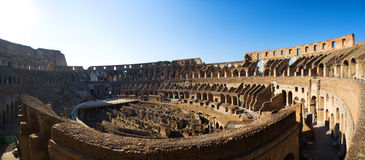 Coliseum panorama Stock Photo