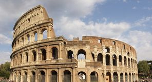Coliseum panoramic Stock Images