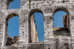 Coliseum. A part of the faсade royalty free stock photos