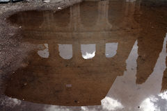 Coliseum puddle Stock Photos
