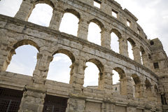 Coliseum Pula Royalty Free Stock Images
