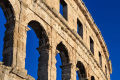 Coliseum Pula Royalty Free Stock Photography