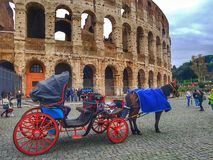 Coliseum Roma Italia stock foto's
