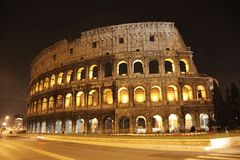 Coliseum in Roma, Italy royalty free stock image
