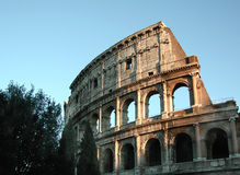 Coliseum - Rome. Rome Coliseum at twilight Royalty Free Stock Image