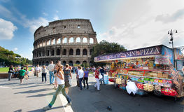 Coliseum Rome Stock Image