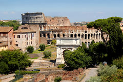 The Coliseum Rome Stock Photos