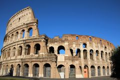 The Coliseum in Rome Royalty Free Stock Photo