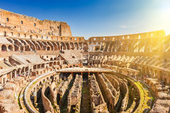 Coliseum in Rome. View on Coliseum in Rome, Italy Stock Photos