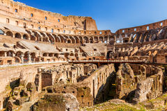 Coliseum in Rome. View on Coliseum in Rome, Italy Stock Image