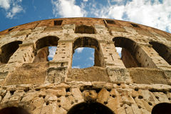 Coliseum in Rome. In the summer, Italy Royalty Free Stock Image