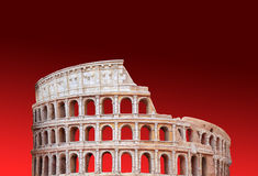 Coliseum of Rome. The Iconic, the legendary Coliseum of Rome, Italy Royalty Free Stock Photos