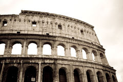 Coliseum, Rome. A view on the Coliseum in Rome, Italy Royalty Free Stock Photo