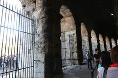 Coliseum at Rome Stock Photo