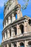 Coliseum Rome. 20 April, 2015 People stroll at Coliseum area - Rome - Italy Royalty Free Stock Photography