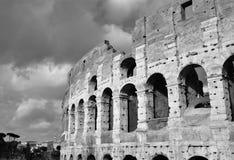 Coliseum in Rome B/W royalty-vrije stock afbeeldingen