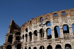 The Coliseum, Rome Stock Image