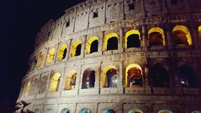 Coliseum. Rome colloseo coloseum night Italy Royalty Free Stock Photo