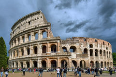 Coliseum in Rome Royalty Free Stock Photography