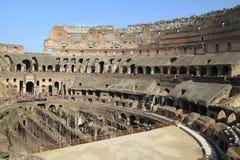 Coliseum, Rome. Coliseum interior view, Rome, Italy stock image