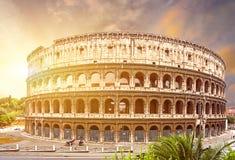 Coliseum. Rome. Italië. stock afbeeldingen