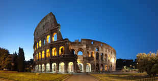 Coliseum, Rome - Italy. Night image of Coliseum in Rome Stock Photo