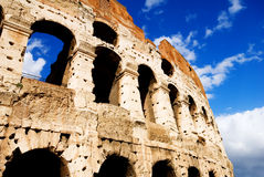 Coliseum in Rome, Italy. On a beautiful summer's day Stock Image