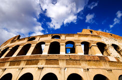 Coliseum in Rome, Italy Royalty Free Stock Photos